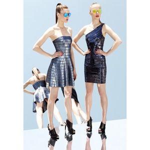 Herve Leger 2013 Resort Runway Look 25 Dress
